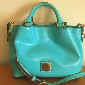 DOONEY & BOURKE Mini Barlow Bag ~ Patent Leather